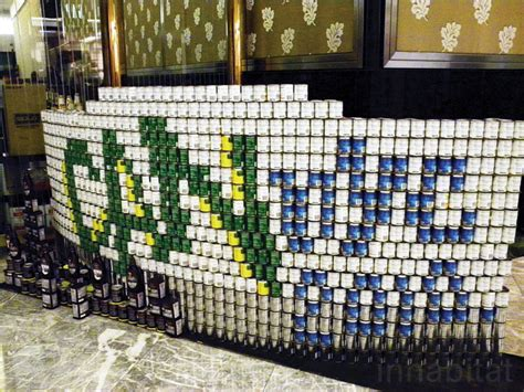 canstruction design plans new photos canstruction sculptures made entirely from