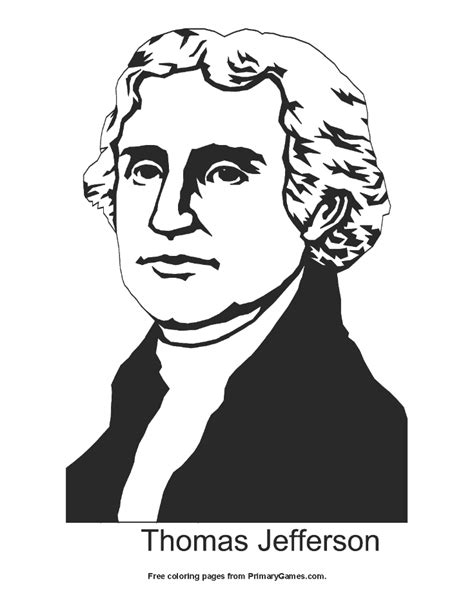 president s day coloring pages ebook thomas jefferson