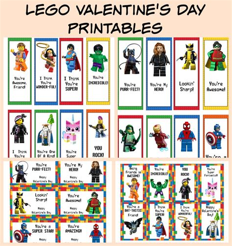 printable lego bookmarks free printable lego valentine s day cards bookmarks