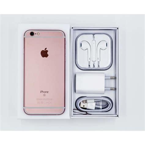 iphone 6s 64 go or 1 coque en silicone transparente achat smartphone pas cher avis