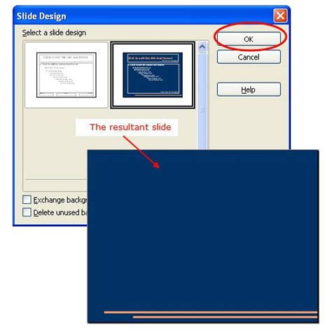 templates for openoffice presentation apply slide design templates in open office impress