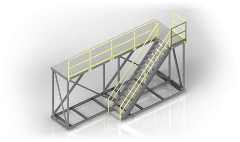 Platform Stairs Design Mobile Maintenance Platforms Access Solutions