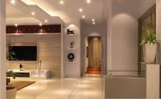 Interior design of ceiling lighting rendering