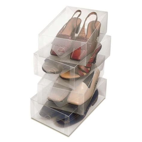 clear shoe storage clear shoe boxes colonialmedical