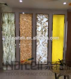 Backlit feature wall with metal frame design for restaurant hotel club