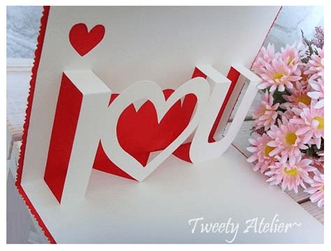 card tutorial pop up card tutorial valentines day paper kawaii