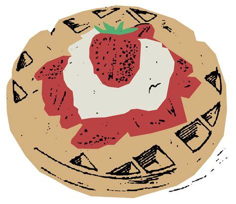 waffles color belgian waffles colour clipart design droide