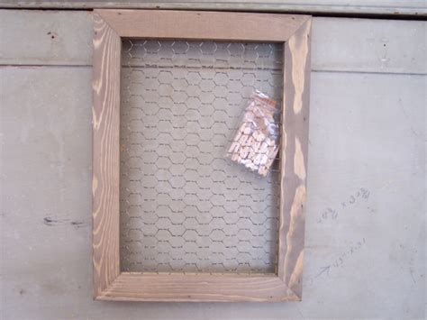 frame pattern on wall quot holly quot wall hanging pattern only chicken wire frame