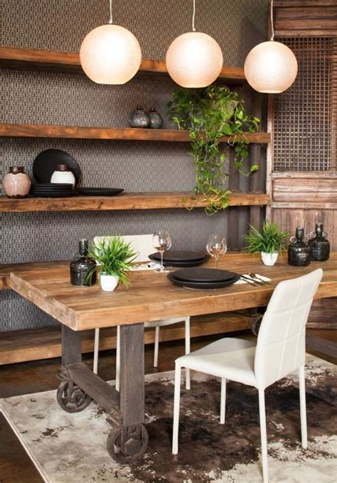 117 best rustic industrial decor images on pinterest 35 cool industrial dining rooms and zones digsdigs