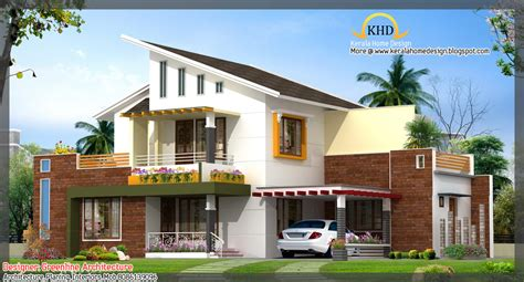 awesome home plans 16 awesome house elevation designs kerala home design
