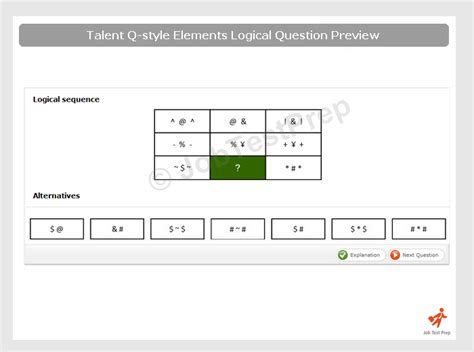 testo big city talent q tests practice elements and aspects numerical