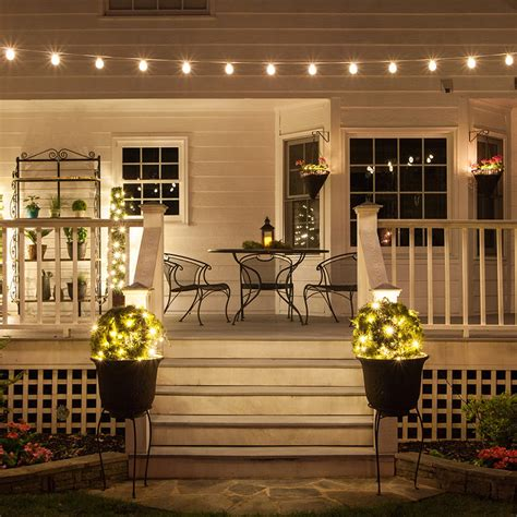 Create A Backyard Cafe With Bistro Lights Yard Envy Cafe Patio Lights