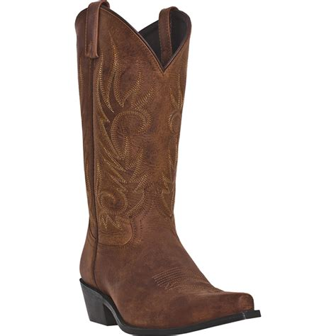 laredo cowboy boots mens laredo mens brown leather willow creek 12in