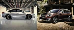 Subaru Outback Legacy Subaru Updates Outback And Legacy For The 2017 Model Year
