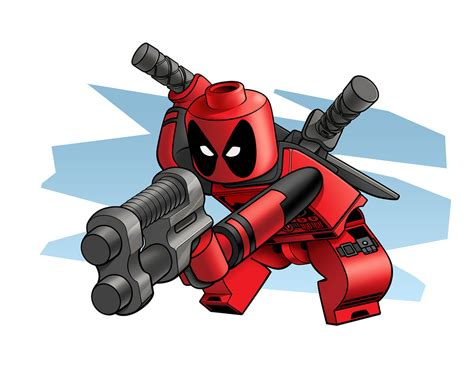 lego deadpool by robking21 on deviantart