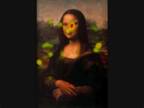 mona lisa the people eyetracking on mona lisa where did the people look at da vinci s famous painting youtube
