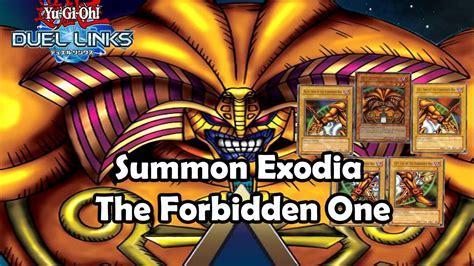 the underdog exodia deck yu gi oh duel links summon exodia the forbidden one