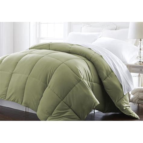 down comforter cal king all season plush down alternative comforter sage king