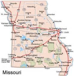 map of united states missouri missouri county map us
