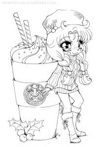 yambucks chibi lineart coloring contest by yampuff on deviantart