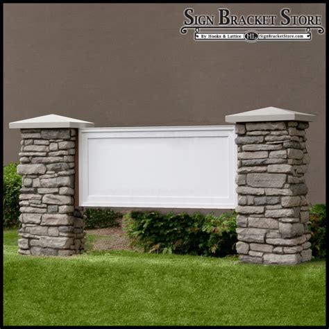 Monument Sign Blanks For Stone Monument Sign Templates