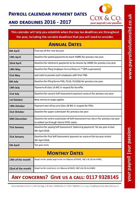 Tax Calendar Image Gallery 2016 Tax Dates