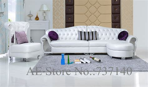 sofa set living room furniture modern style leather sofa white sofa furniture buying