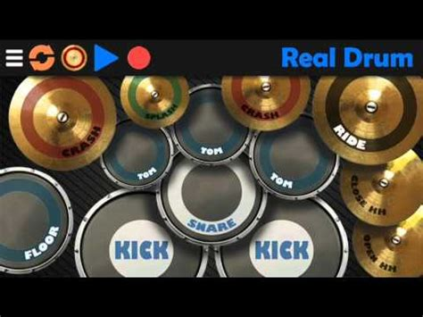 tutorial main real drum android real drum by rodrigo kolb musical app for android