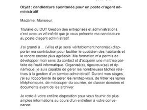 Lettre De Motivation De Mairie Lettre De Motivation Mairie Administratif Par Lettreutile