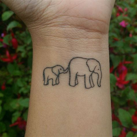 two weeks healed mother son elephant tattoo ink me up 9 mejores im 225 genes de tatuajes en pinterest ideas de