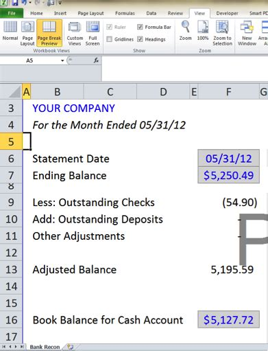 balance statement classified balance sheet template excel
