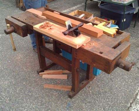 vintage work bench for sale pdf diy woodworking bench auction download woodwork tool