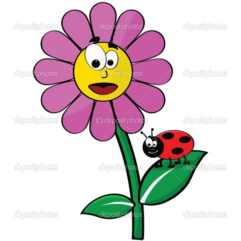 Läuse An Blumen 4425 by Bug On Flower Clipart Panda Free Clipart Images