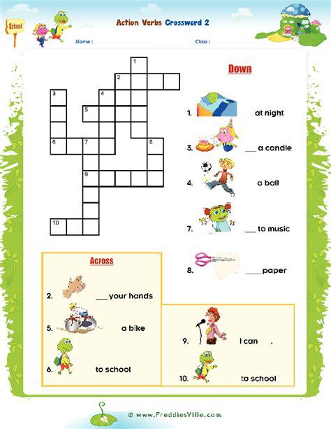 Diskon Puzzle Edukasi Match It Verb verbs puzzle for esl