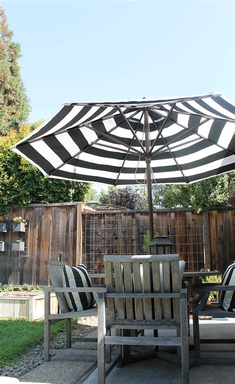 Design For Striped Patio Umbrella Ideas Patio Striped Patio Umbrella Home Interior Design