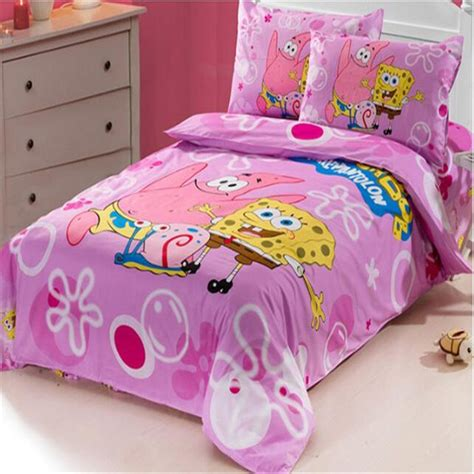 Bedcover Set Spongebob 3d popular spongebob comforter set buy cheap spongebob comforter set lots from china spongebob
