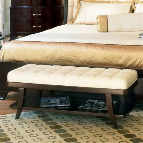 moderne schlafzimmer bank gepolsterte sitzbank schlafzimmer goetics