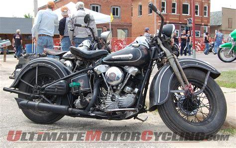 harley motors through the years harley davidson knucklehead vintage motorcycle history
