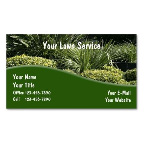 9 page card template landscape 10 images about lawn care business cards on