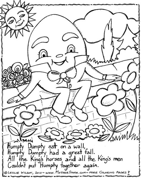Preschool Coloring Pages Nursery Rhymes | preschool nursery rhymes coloring pages az coloring pages