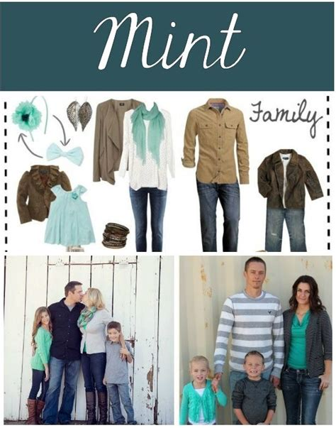 colors for family pictures ideas 50 fall family photo ideas mint color fall family