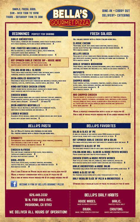 Espresso Kitchen Gourmet Pizza Menu menu design s gourmet pizza on behance