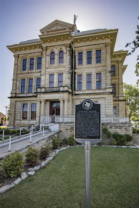Milam County Records Milam County Courthouse Cameron Thc Gov Historical Commission