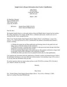 Recommendation Letter Qualifications Best Photos Of Exles Of Letters Requesting Information