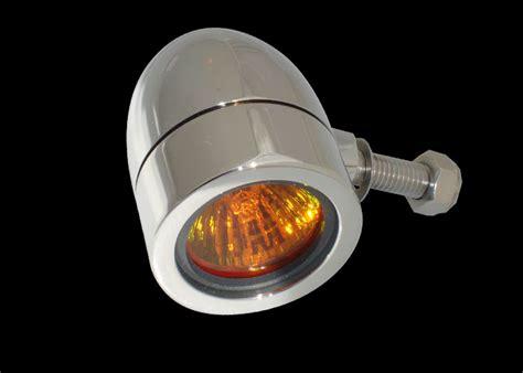 Bullet Lights by Bullet Lights Small Flat Bezel Chrome Lens