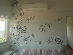 designer wall paint wall paint stencil designs wall with paint house