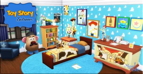toy story bedroom decor toy story bedroom at victor miguel 187 sims 4 updates