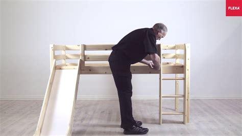 flexa classic mid high bed straight ladder