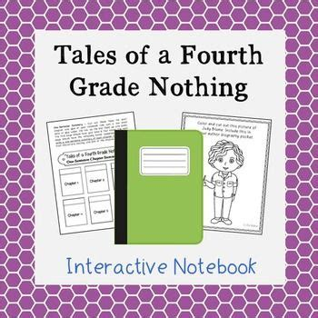tales of a fourth grade nothing book report fourth grade biography and vocabulary on