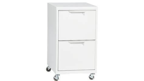 white desk with two file drawers tps white 2 drawer filing cabinet cb2